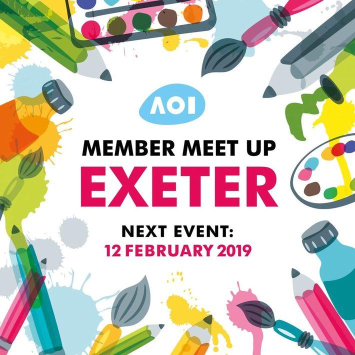 Association of Illustrators Member Meet Up: Exeter Phoenix 12 Feb 2019