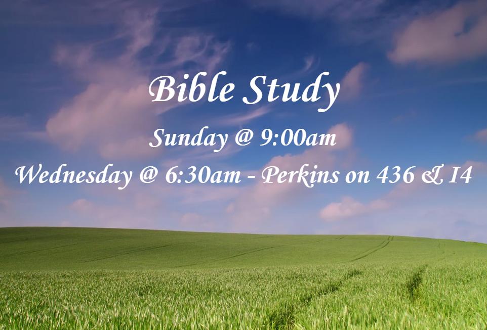 Bible Study - Church News - King of Kings Lutheran Church