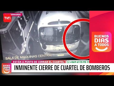 POR CONSTANTES ROBOS CERRARAN LA SEXTA COMPAÑÍA DE BOMBEROS SAN BERNARDO - CHILE