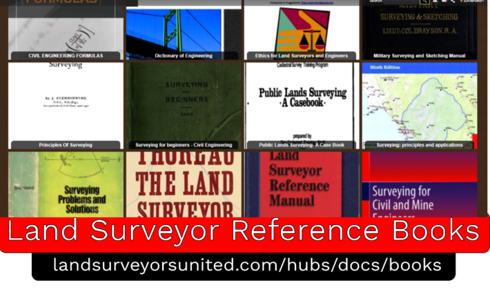 Land Surveying Reference Books