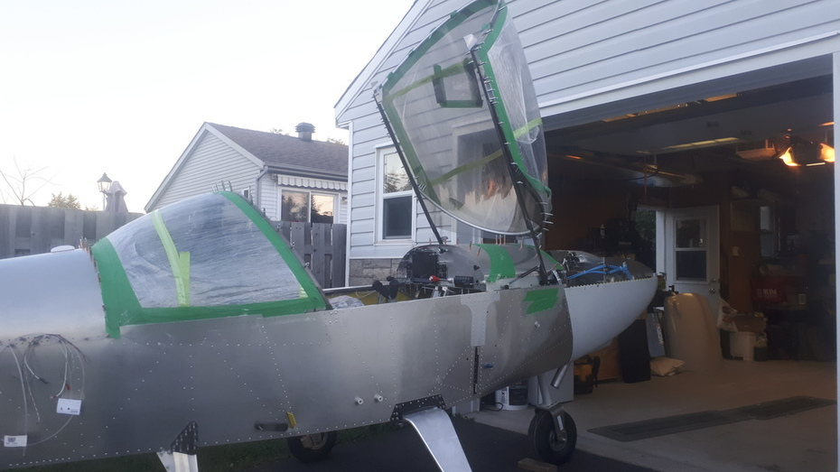 CH650 canopy