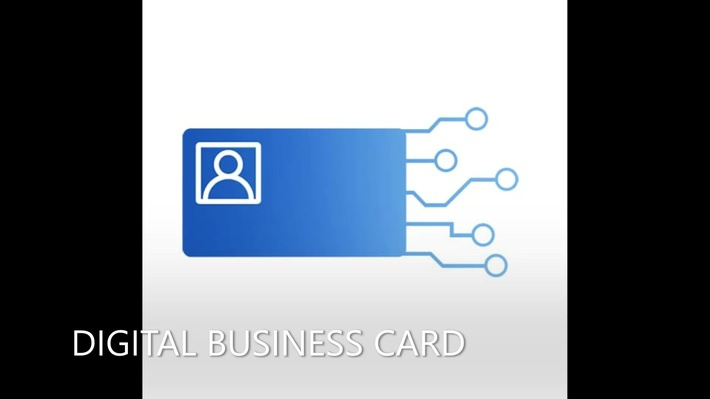 Electronic Business Card iphone