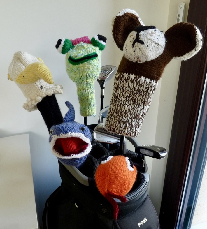 GOLF CLUB HATS