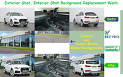 vehicle image editing services