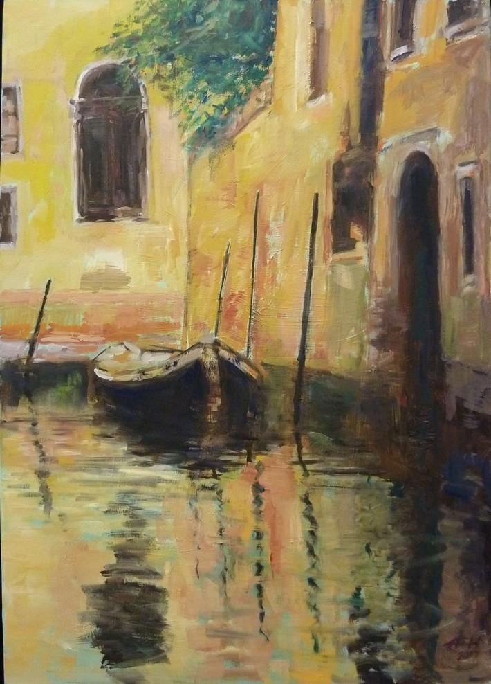 Venice,Evening Light
