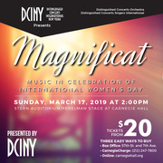 Magnificat: Music in Celebration of International Women's Day