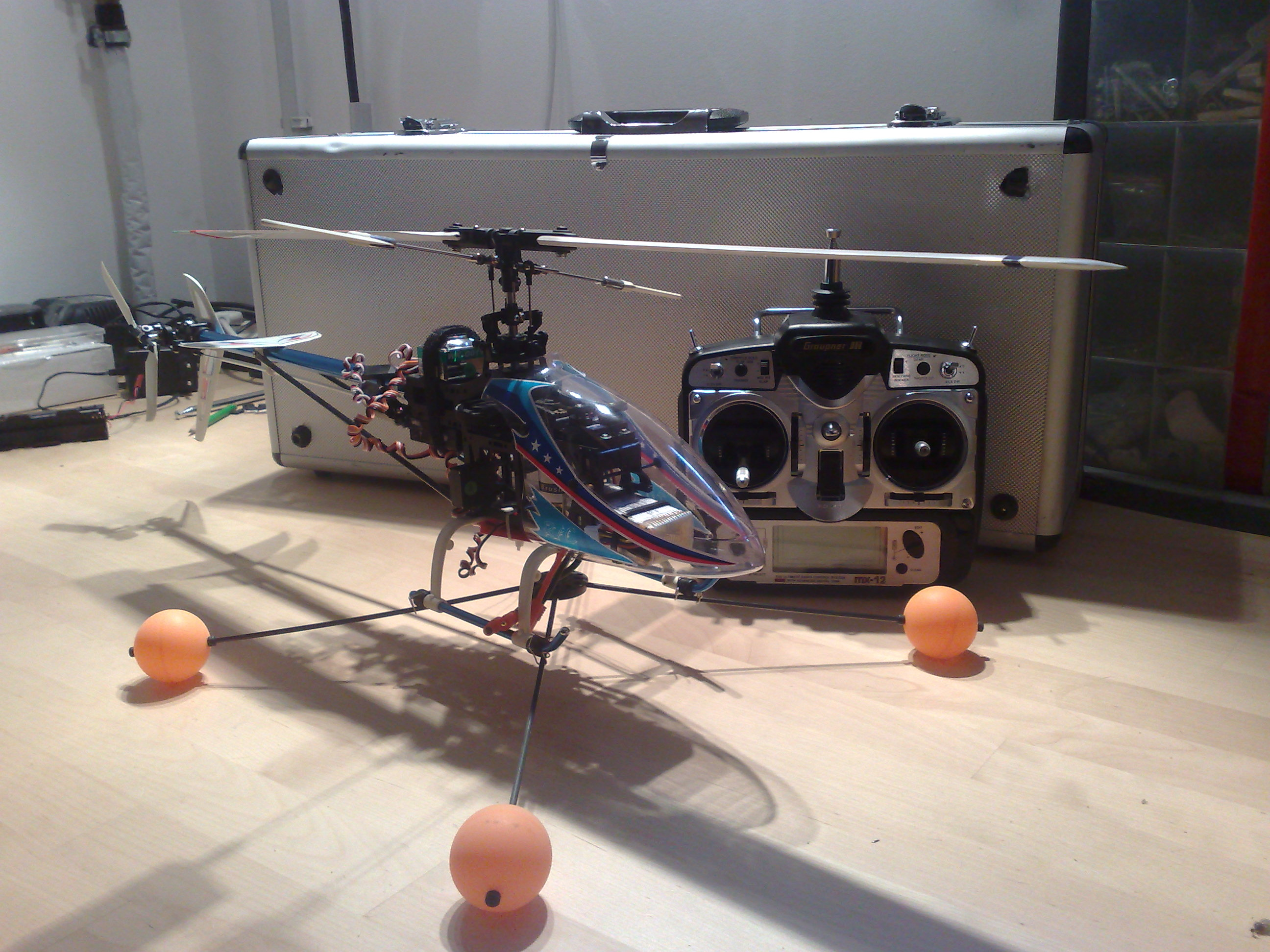 Project - RC Helicopter Stabilization with Arduino - DIY Drones