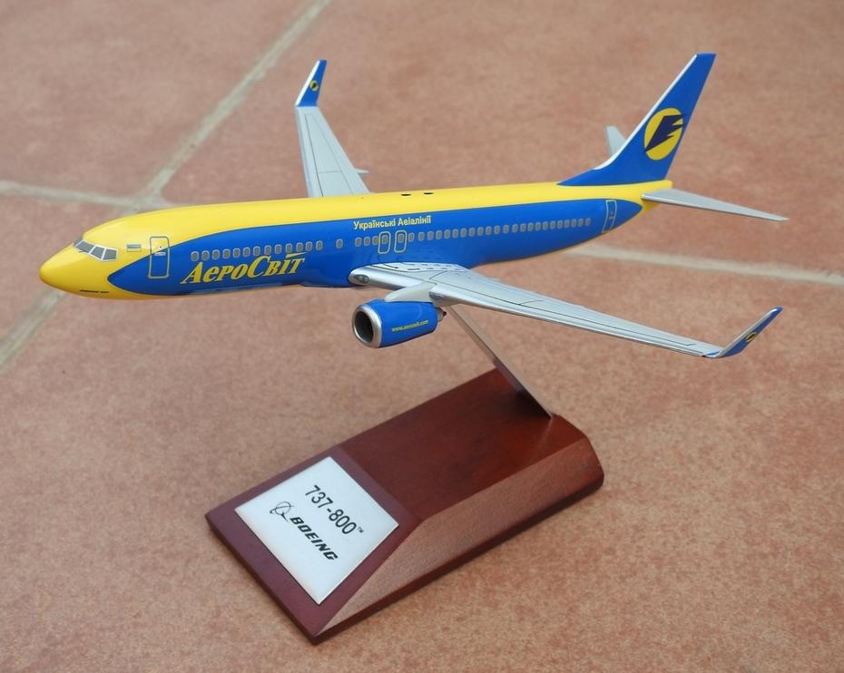 Hogan 1:200 Aerosvit B737-800