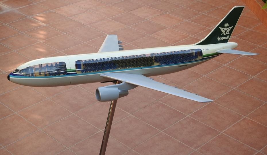 Westway 1:50 Saudia A300-600