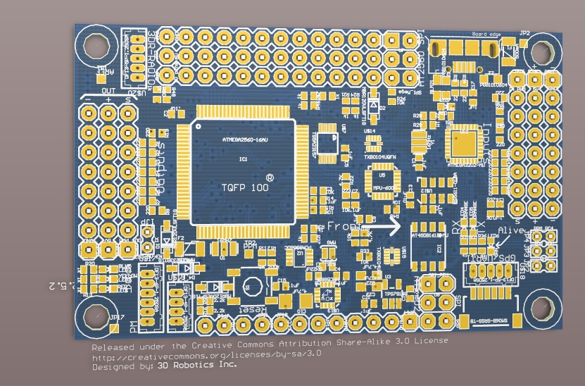 Altium DXP version of APM 2 5 design - DIY Drones