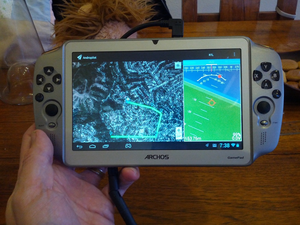 Archos Gamepad support added to Andropilot 1 3 02 - DIY Drones