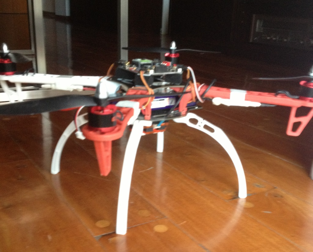 Be careful with the new DJI landing gear! - DIY Drones