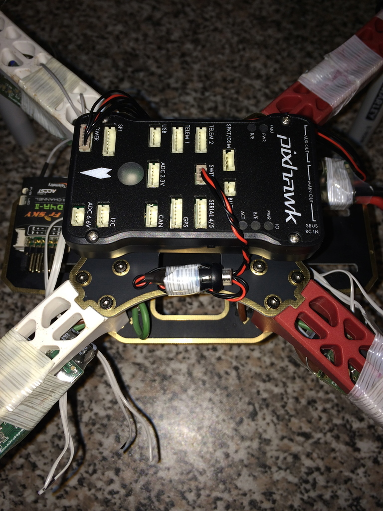 Mikrokopter BL-Ctrl i2c ESC support now in ArduCopter with Pixhawk
