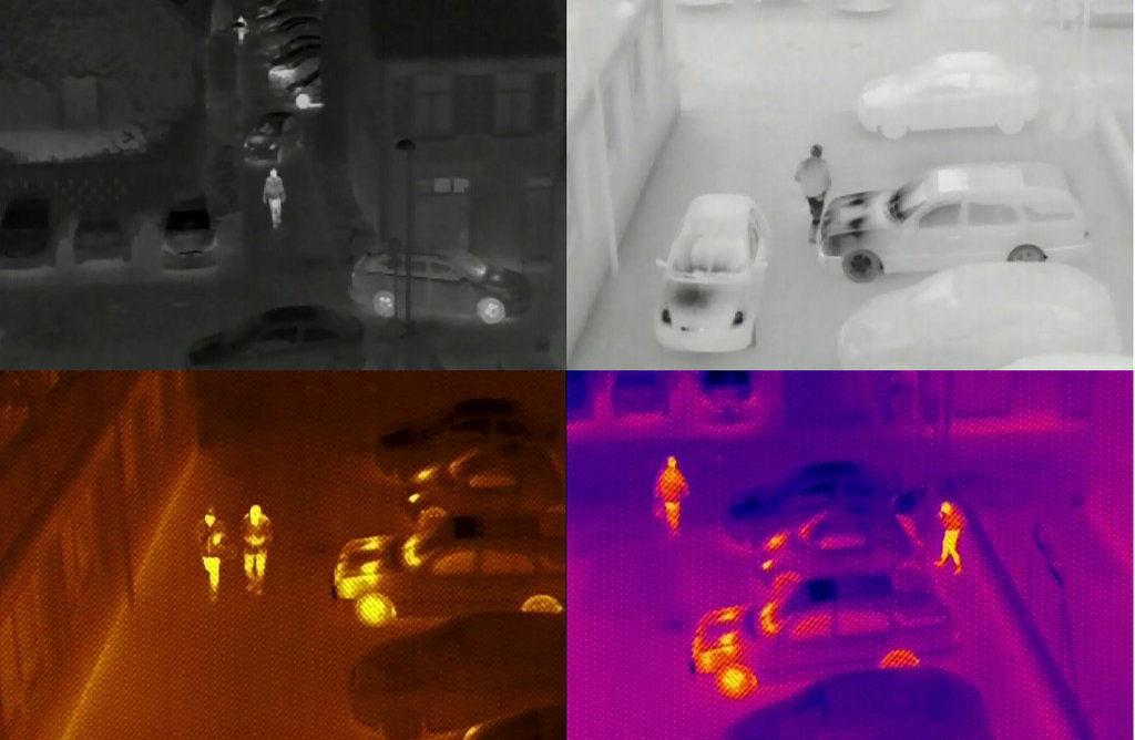 Testing a small thermal imaging camera (Version 2) for UAVs
