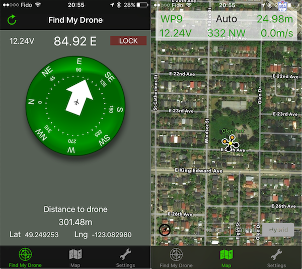 FIND MY DRONE v1 1 - The #1 Free iPhone App for Lost Drones