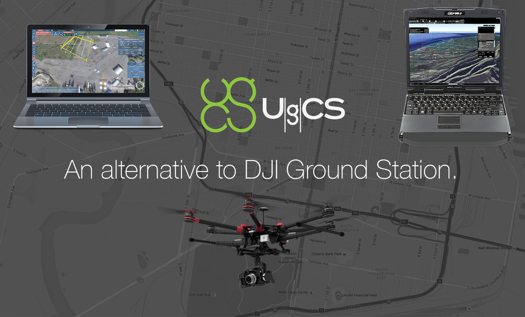 UgCS as a viable alternative to DJI Ground Station - DIY Drones