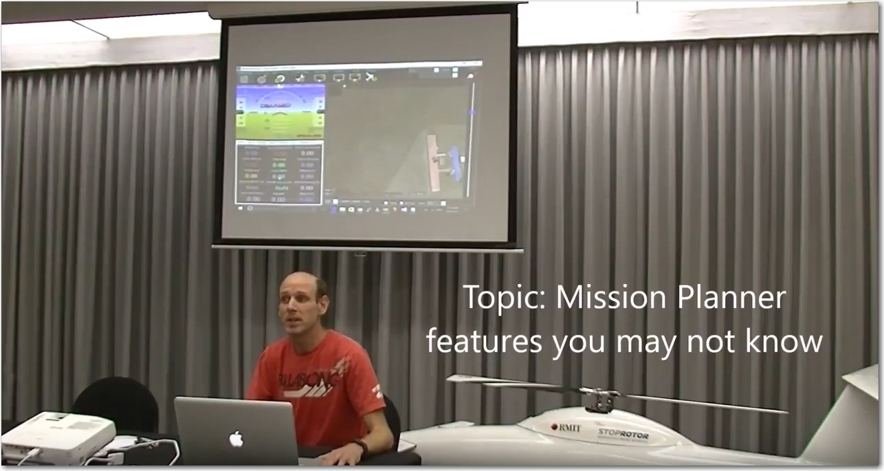 Mission Planner's Michael Oborne on rarely known features - DIY Drones