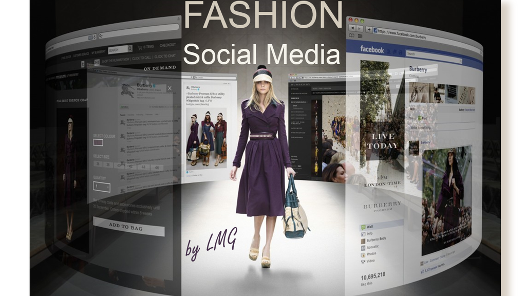 Social Media For Fashion Brands Fashion Industry Network