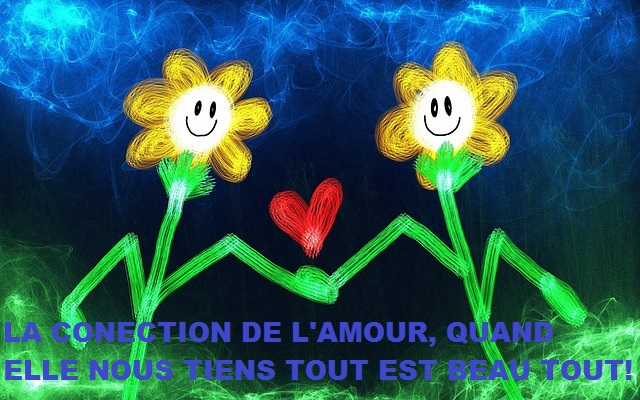 ' la connection de l'amour....