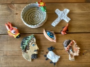 Air drying clay...play time!