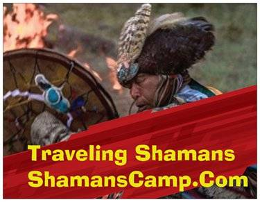 Friends of Traveling Shamans Camp Logo