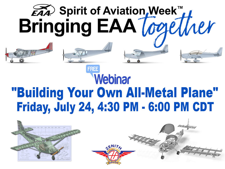 EAA Webinar: Building Your Own All Metal Airplane