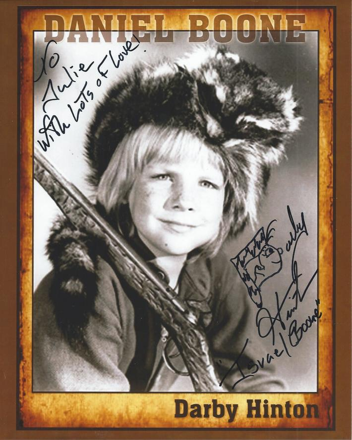 Darby Hinton signed photo July 2020
