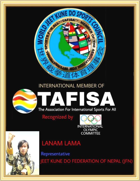 World JKD Sports Council - Master Lanan Lama (Nepal)