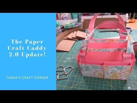 DIY Paper Craft Caddy 2.0 Update!