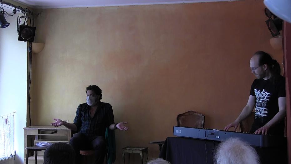 Jann Halexander, 29 juin 2020, Atelier du Verbe, Paris
