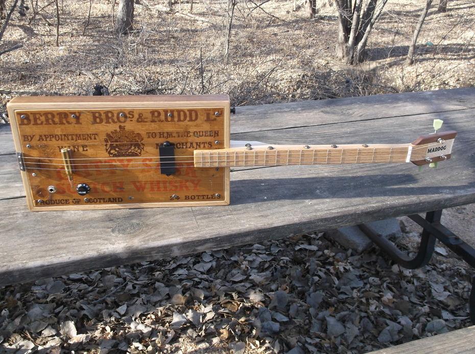 Cutty Sark Scotch Whiskey 3 String Guitar