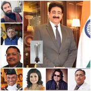 Sandeep Marwah Awarded With Global Cultural Minister Award