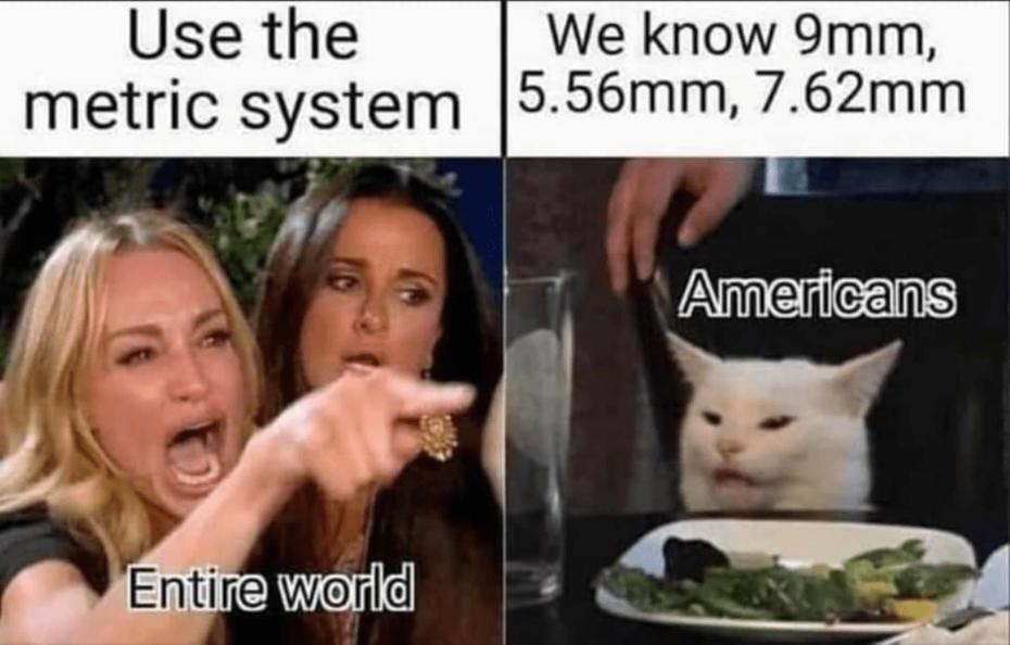 American metric system