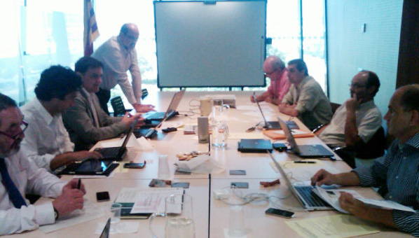 First expert meeting on the Future of Telecentres - picture by Rodrigo Zardoya