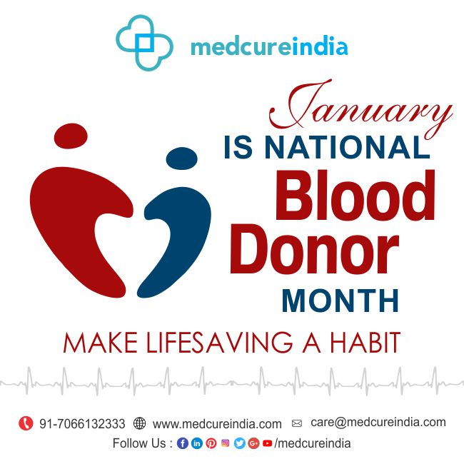 NATIONAL BLOOD DONOAR MONTH