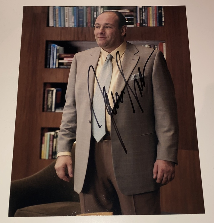 James Gandolfini (Tony Soprano)
