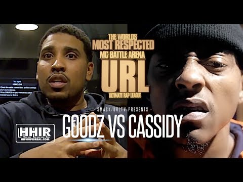 "GOODZ:  'I CAN TALK MONEY TO CASSIDY"" & SAYS CASSIDY DIDN'T START BATTLE RAP"