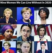 Nine Women We Can Live Without in 2020
