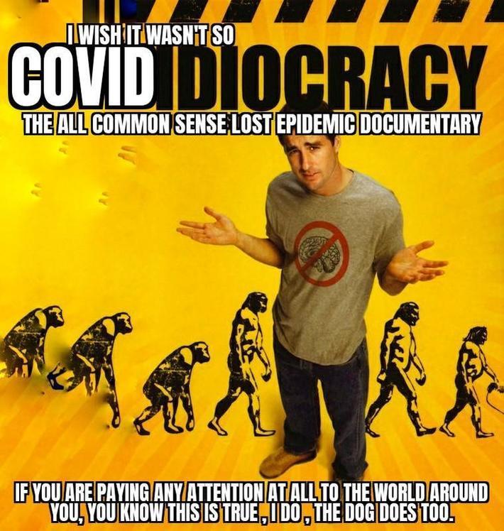 The Big COVID-19 Idiocracy Spam Scam