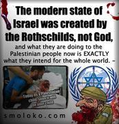 Satanic Rothschilds Created Zionist Talmudic Israel