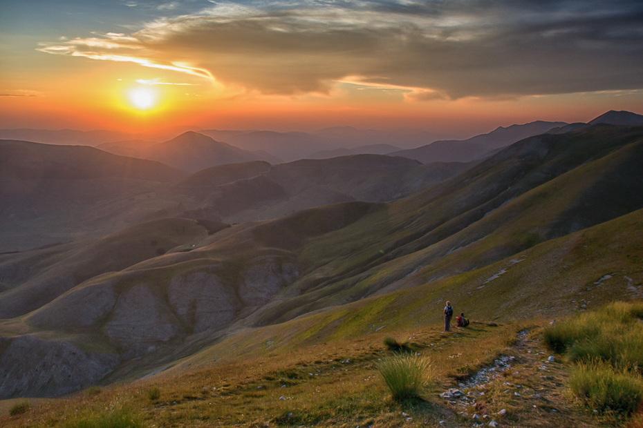 Tramonto dal Monte Redentore.