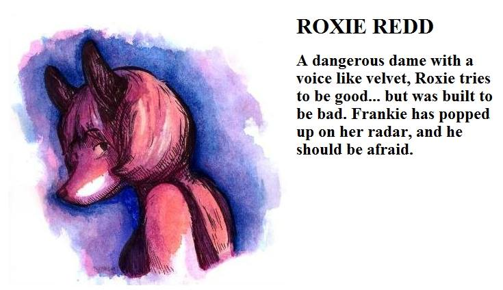 Roxie Redd from A Whisker Past Midnight