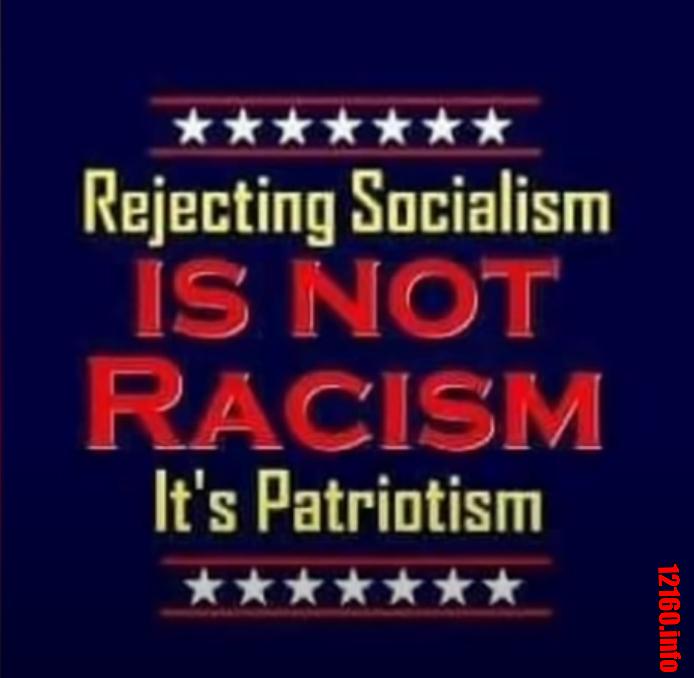 Socialism is NOT racism