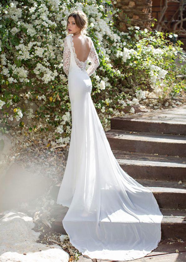 Top 10 Gorgeous Open Back Wedding Dresses Bridaltweet