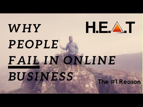 Why People Fail In Online Business - The #1 Reason | High End Affiliate Training