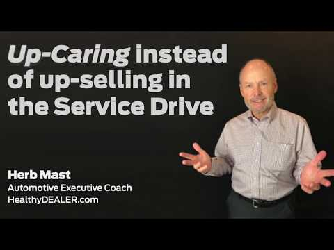 Up-Care in the Service Drive