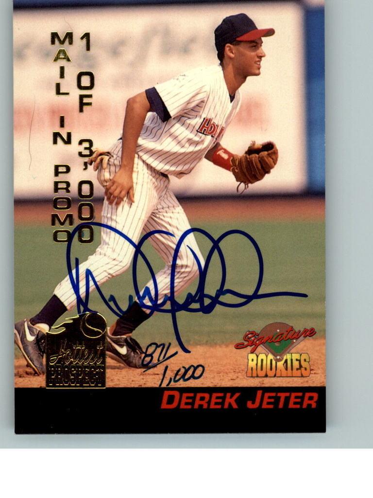 Ebay Seller Tntnorthnj Sells Signed Forged Derek Jeter 1994