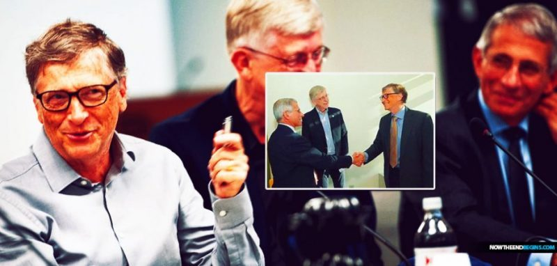 Bill Gates And Anthony Fauci, Unelected Destroyers Of Freedom