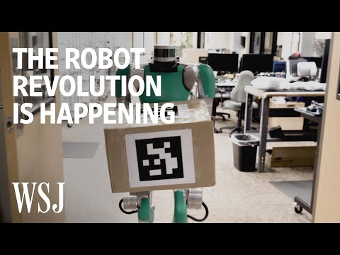 The Robot Revolution Is Happening-Like It or Not | WSJ