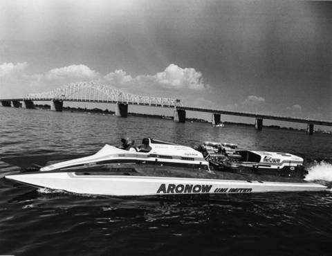 Aronow Introducing Unlimited Catamaran – Hydroplane and